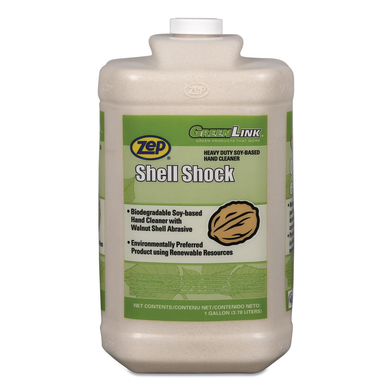Shell Shock Heavy Duty Soy-Based Hand Cleaner, Vanilla, 1 gal Bottle, 4/CT