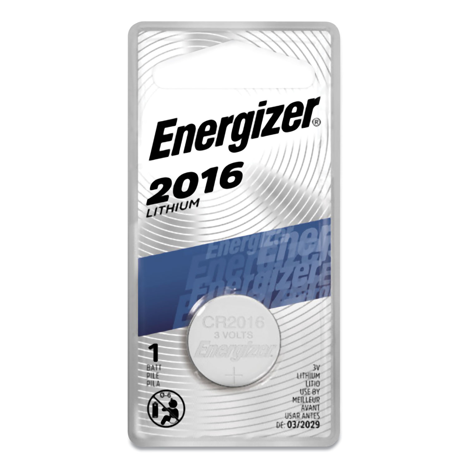 2016 Lithium Coin Battery, 3V