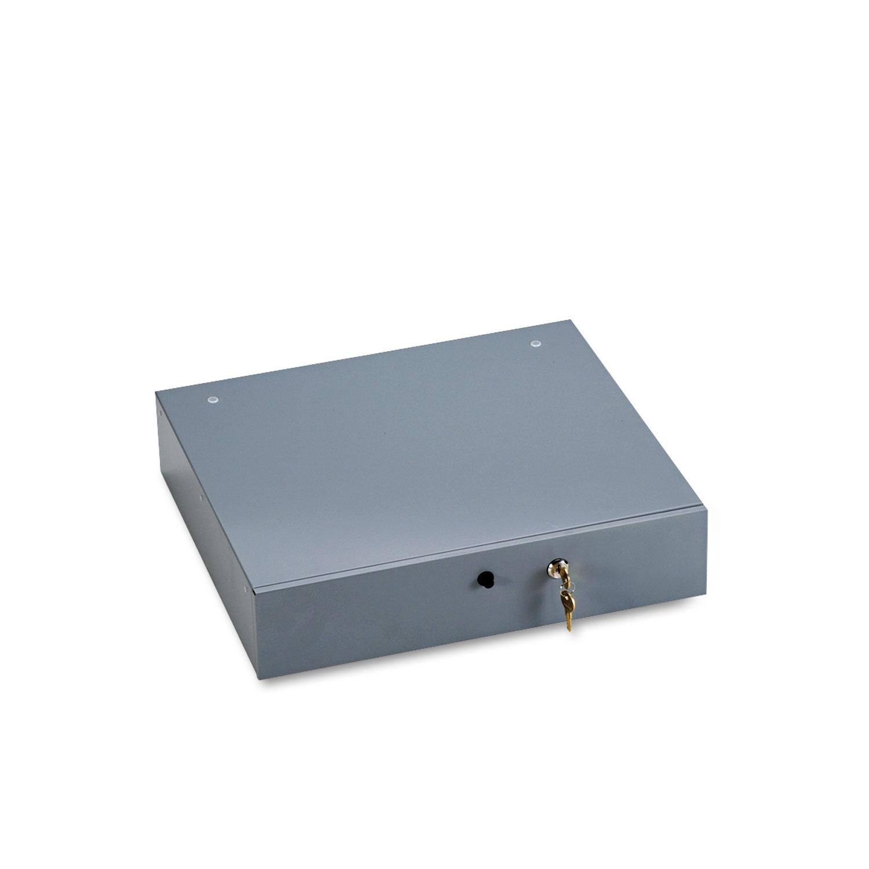 Alarm Alert Steel Cash Drawer W Key Amp Push Button Release