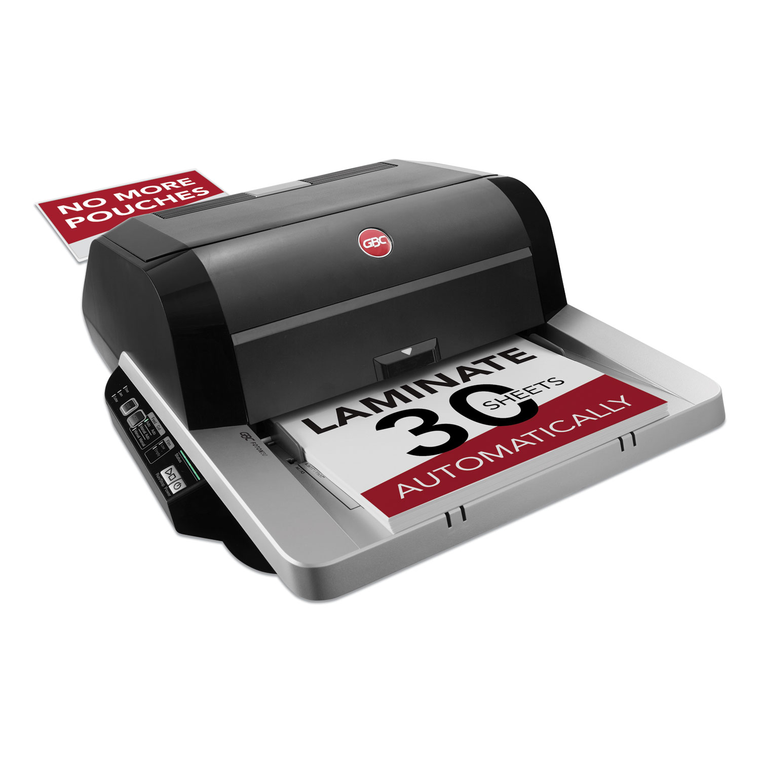 "Foton 30 Automated Pouch-Free Laminator, 1"" Max Document Width, 5 mil Max Document Thickness"