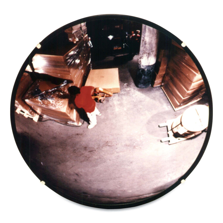 """160 degree Convex Security Mirror, 36"""" Diameter"""