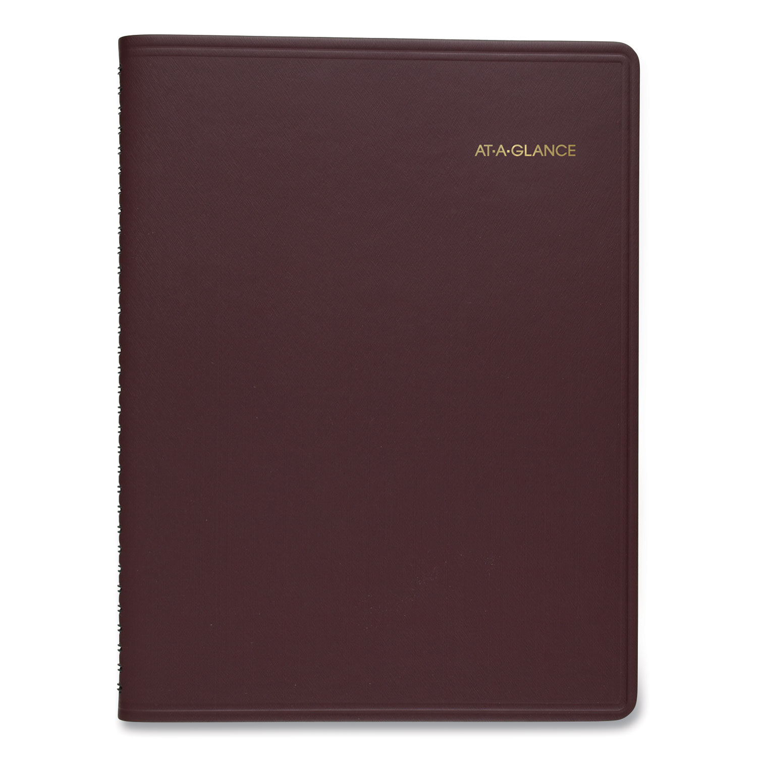 Weekly Appointment Book, 11 x 8.25, Winestone, 2021-2022