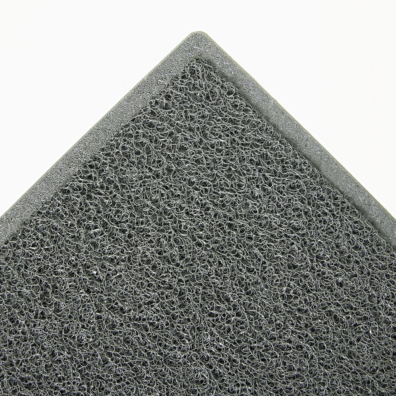 Dirt Stop Scraper Mat, Polypropylene, 48 x 72, Slate Gray