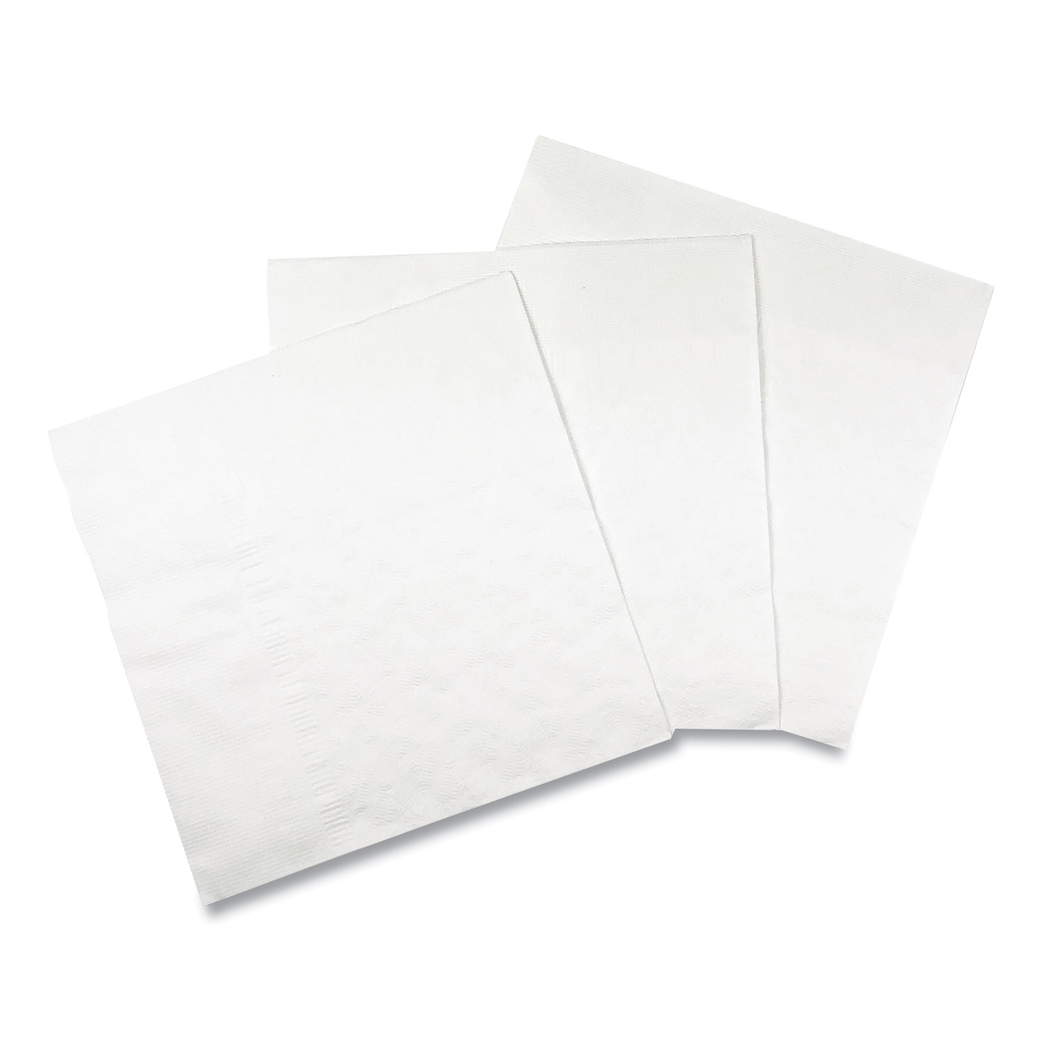 "Dinner Napkin, 17"" x 17"", White, 3000/Carton"