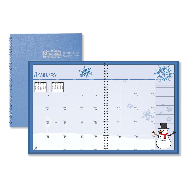 Seasonal Monthly Planner, 10 x 7, 2021