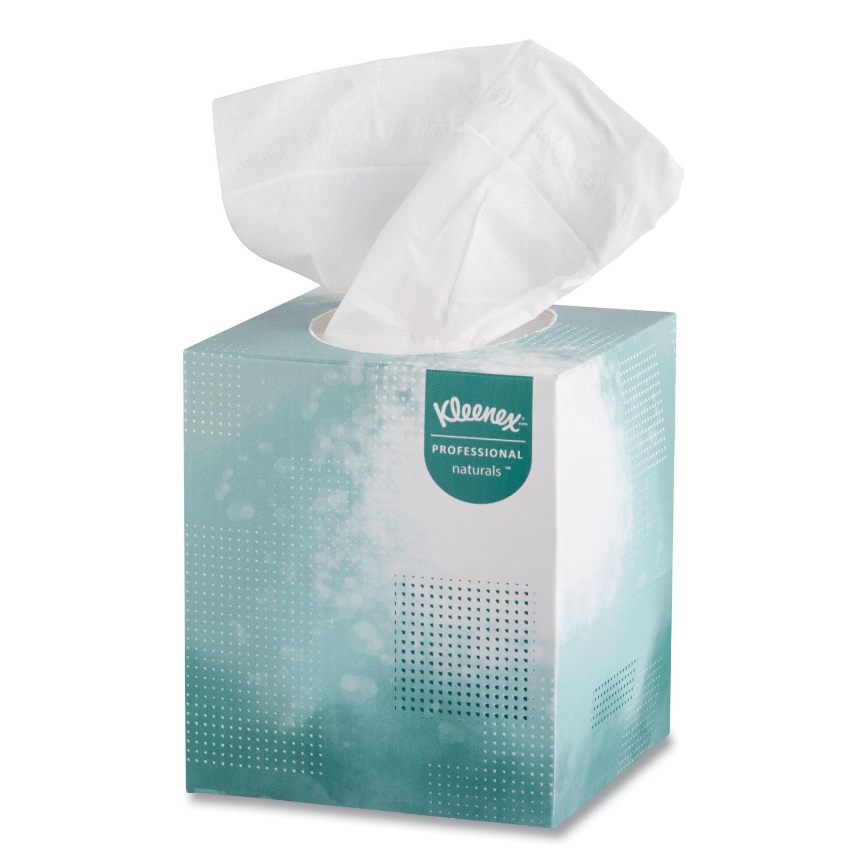 Naturals Facial Tissue, 2-Ply, White, 95 Sheets/Box