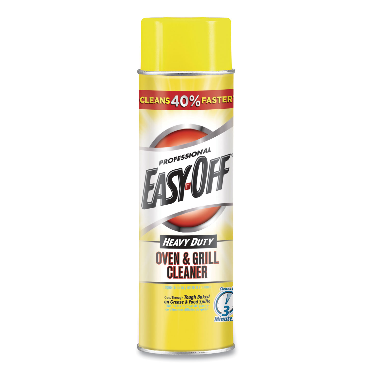 Oven and Grill Cleaner, Unscented, 24oz Aerosol
