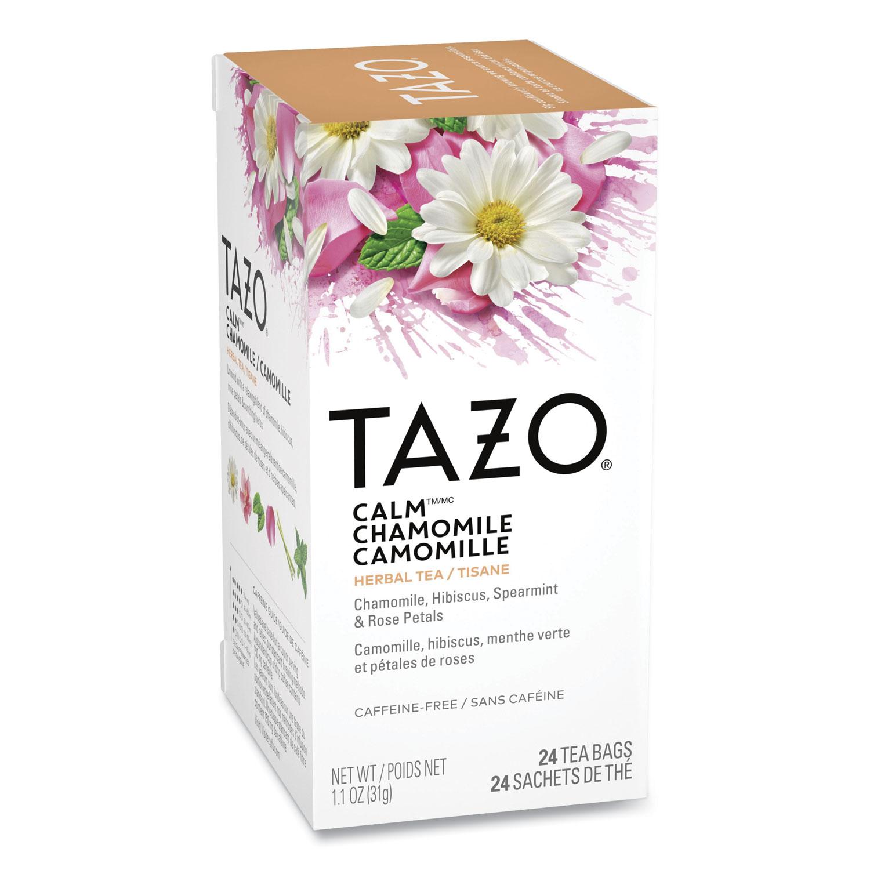 Tea Bags, Calm Chamomile, 24/Box
