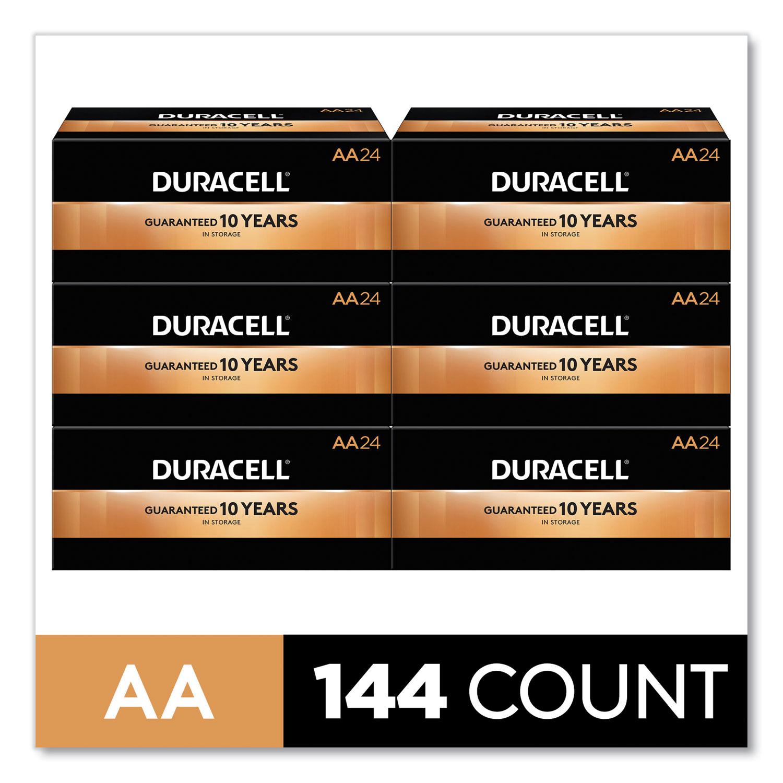 CopperTop Alkaline AA Batteries, 144/Carton