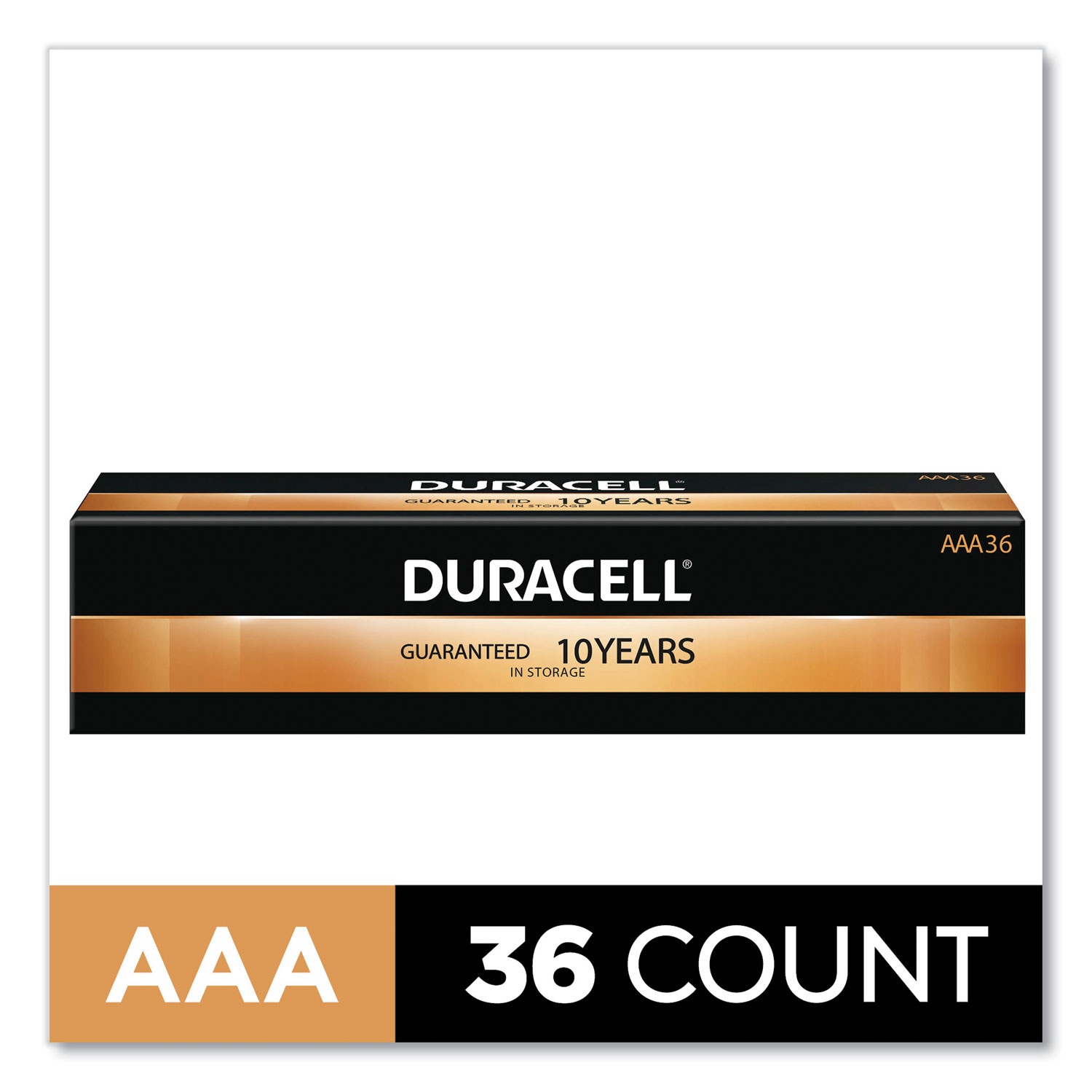 CopperTop Alkaline AAA Batteries, 36/Pack