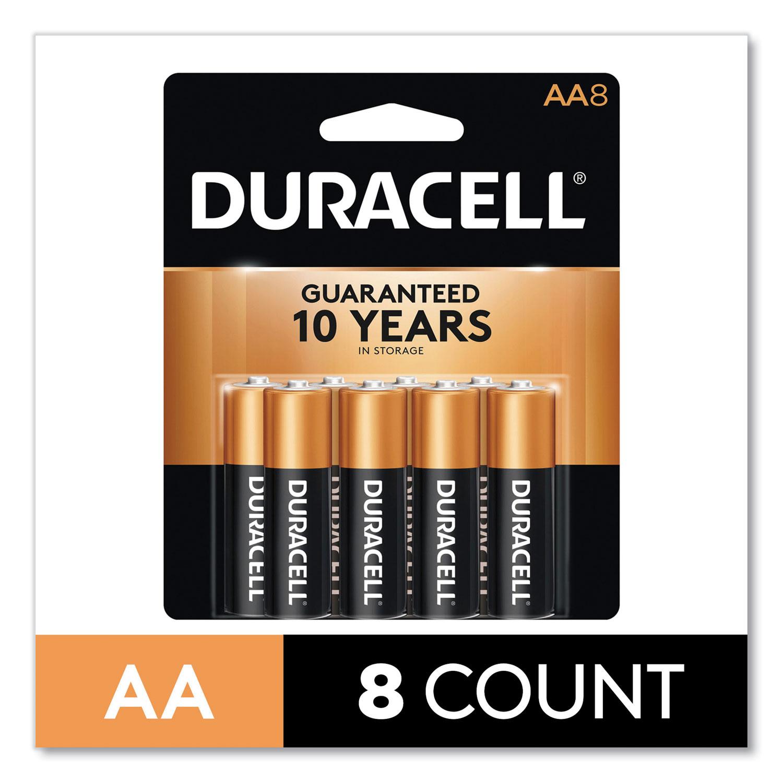CopperTop Alkaline AA Batteries, 8/Pack