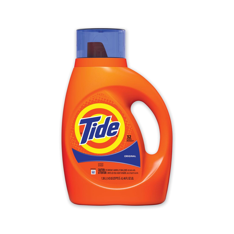 Liquid Tide Laundry Detergent, 32 Loads, 46 oz