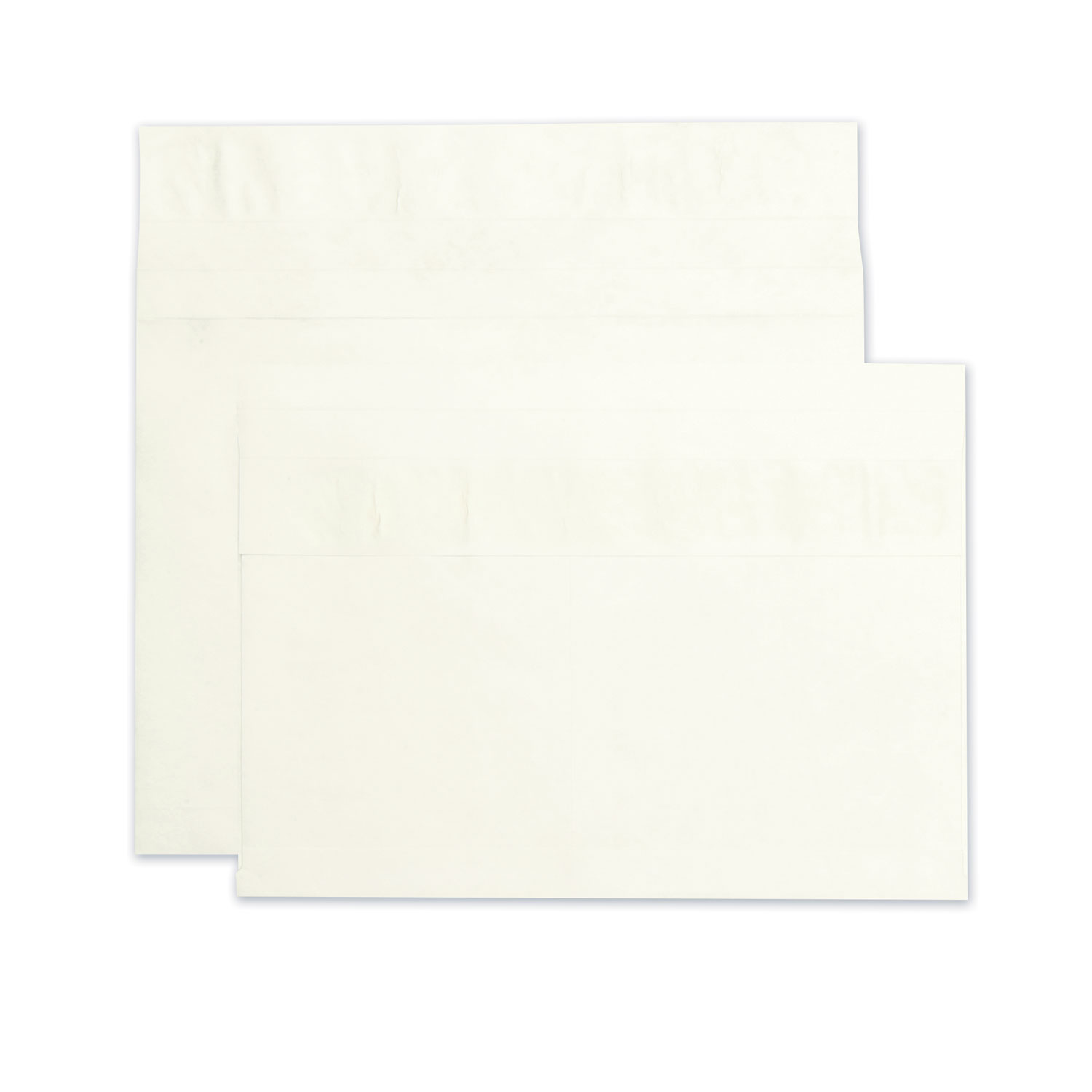 Open Side Expansion Mailers, DuPont Tyvek, #15, Cheese Blade Flap, Redi-Strip Closure, 10 x 15, White, 100/Carton