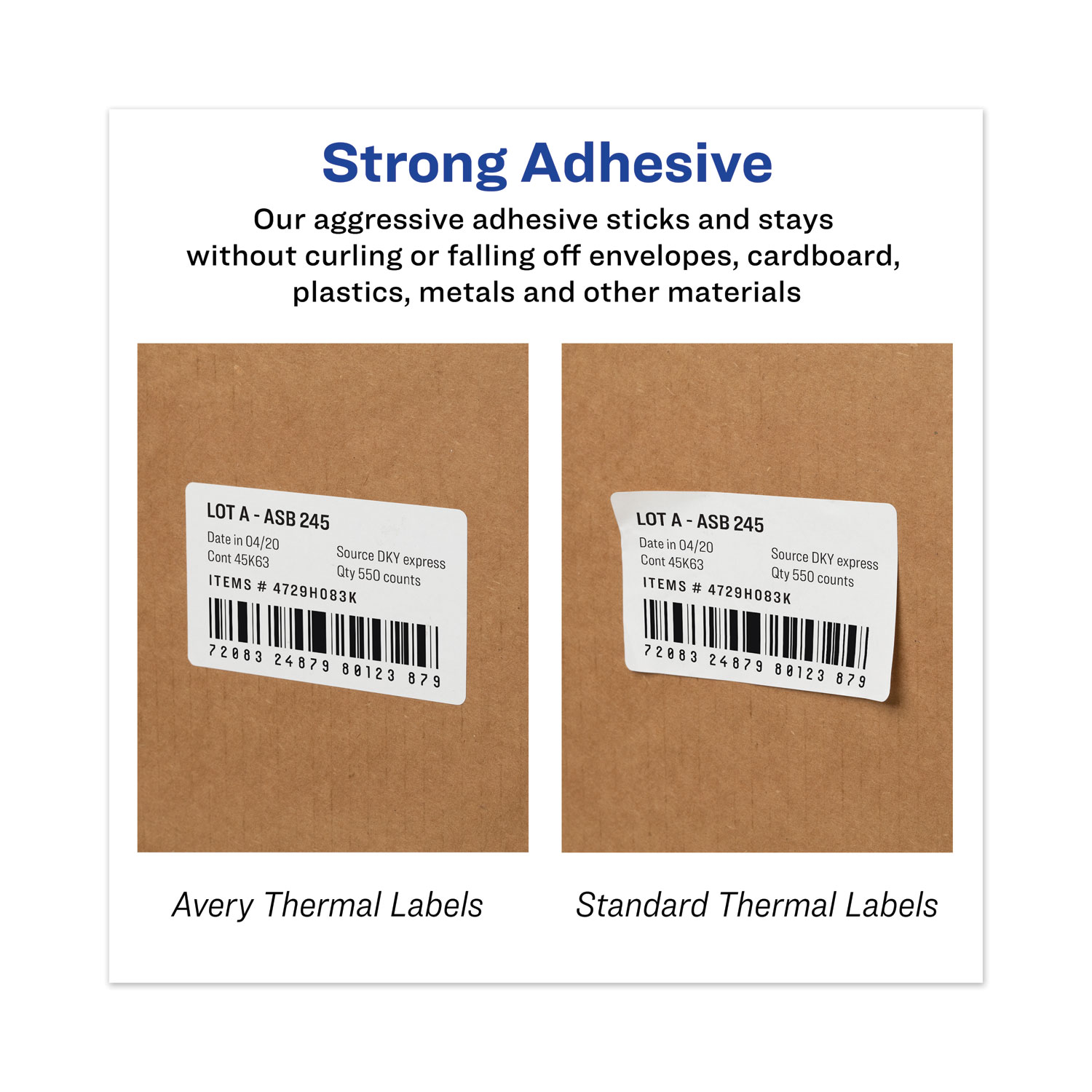 AVE4156 Avery Thermal Printer Shipping Labels