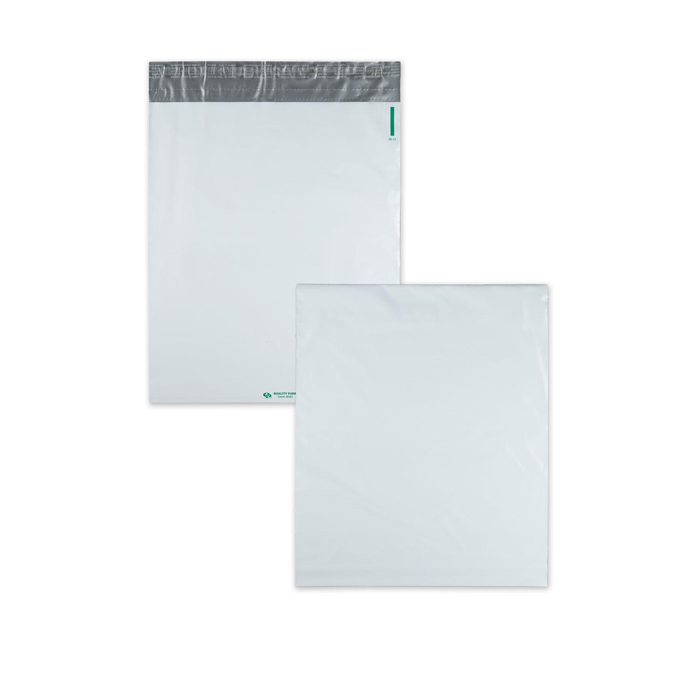 Redi-Strip Poly Expansion Mailer, #5 1/4, Square Flap, Redi-Strip Closure, 13 x 16, White, 100/Carton