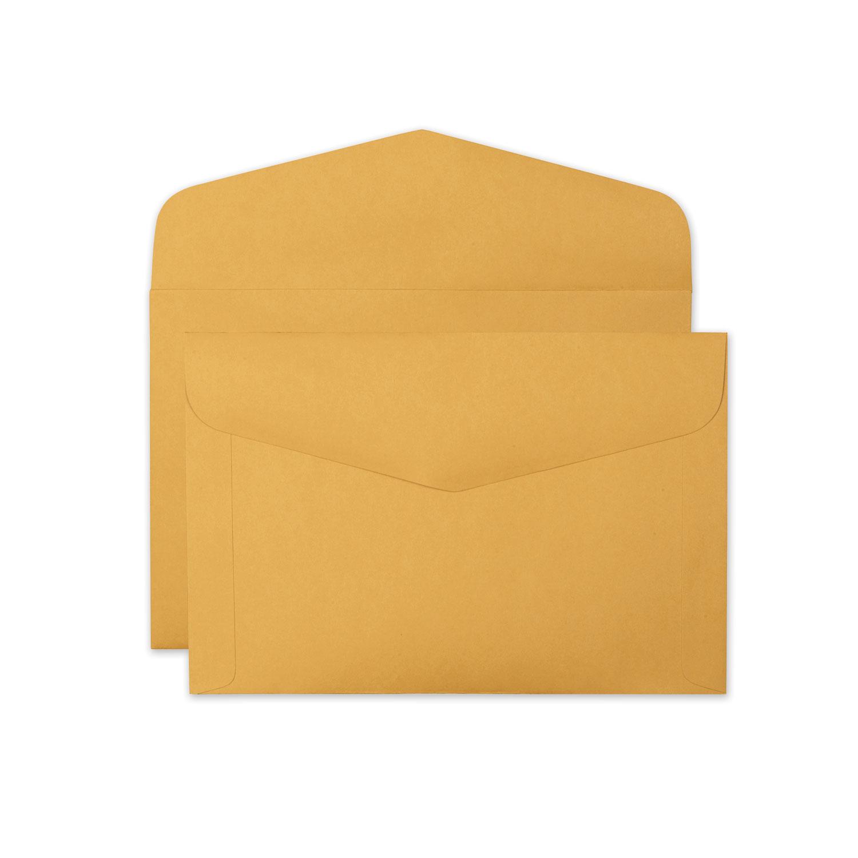 Open-Side Booklet Envelope, #15, Hub Flap, Gummed Closure, 10 x 15, Brown Kraft, 100/Box