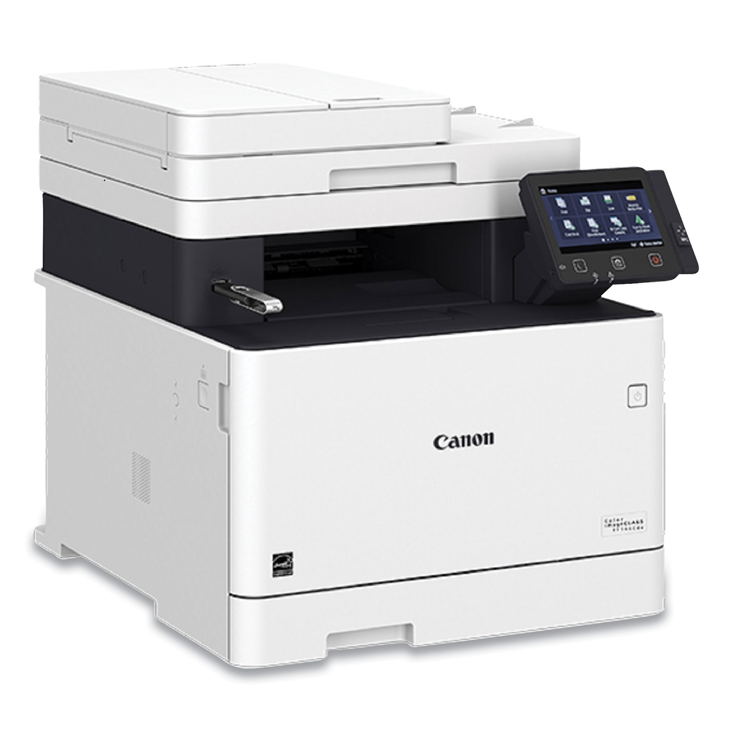Canon® Color imageCLASS MF745cdw All in One, Wireless, Color Duplex Laser Printer, Copy; Fax; Print; Scan