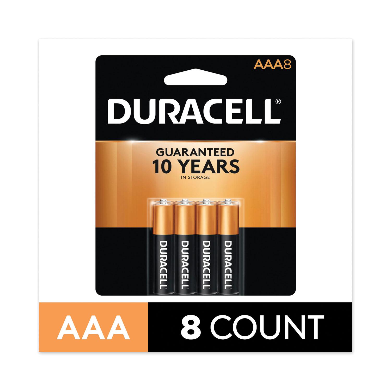 CopperTop Alkaline AAA Batteries, 8/Pack, 40 Pack/Carton
