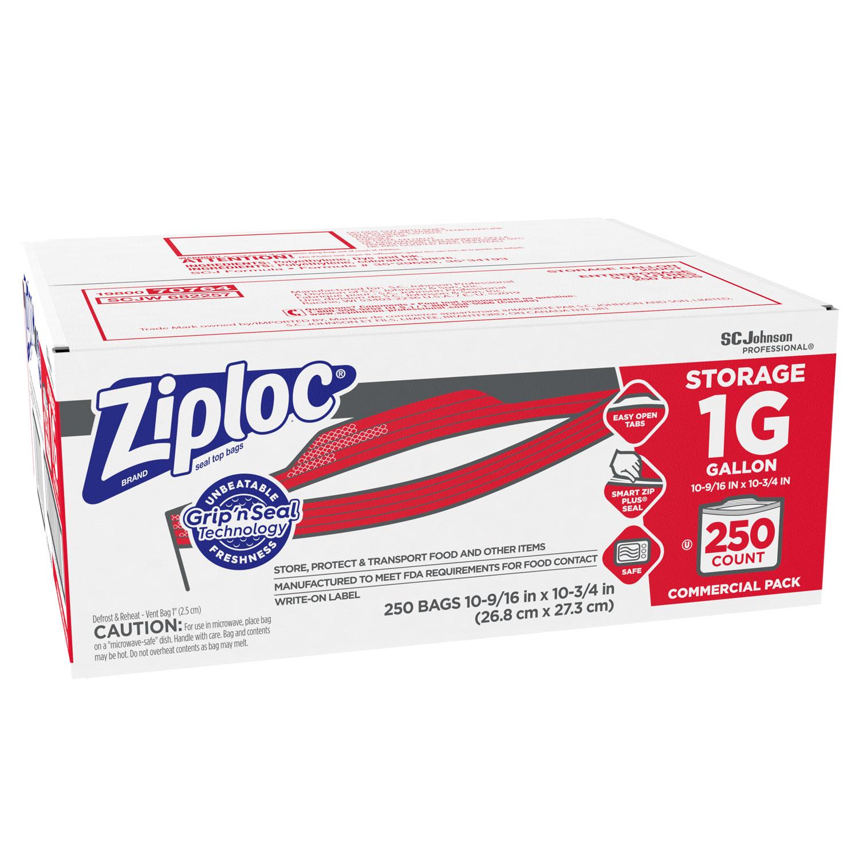 ProLine® 100 10x13 Clear Zip and Lock Plastic Zipper Poly Locking Reclosable Bag