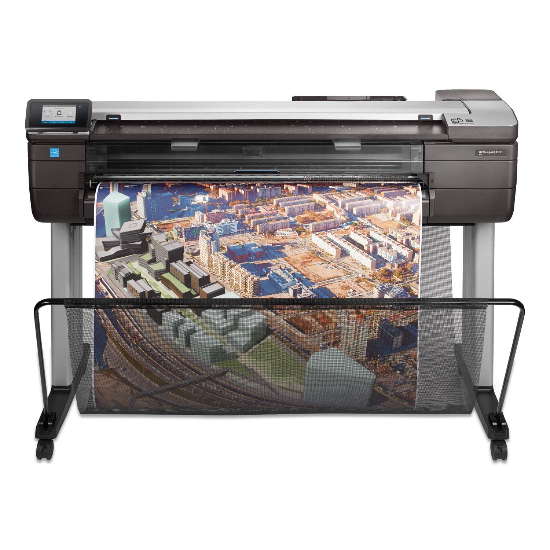 HP Designjet T830 36 Wireless Multifunction Wide Format Inkjet Printer, TAA Compliant