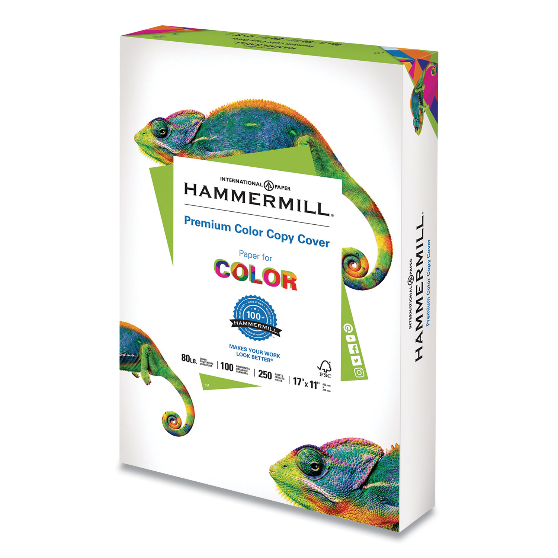 Premium Color Copy Cover, 100 Bright, 80lb, 17 x 11, 250/Pack