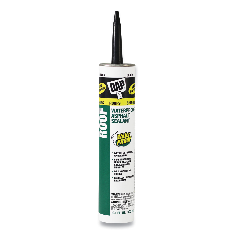 DAP® Waterproof Asphalt Sealant, 10.1 oz Cartridge, Black