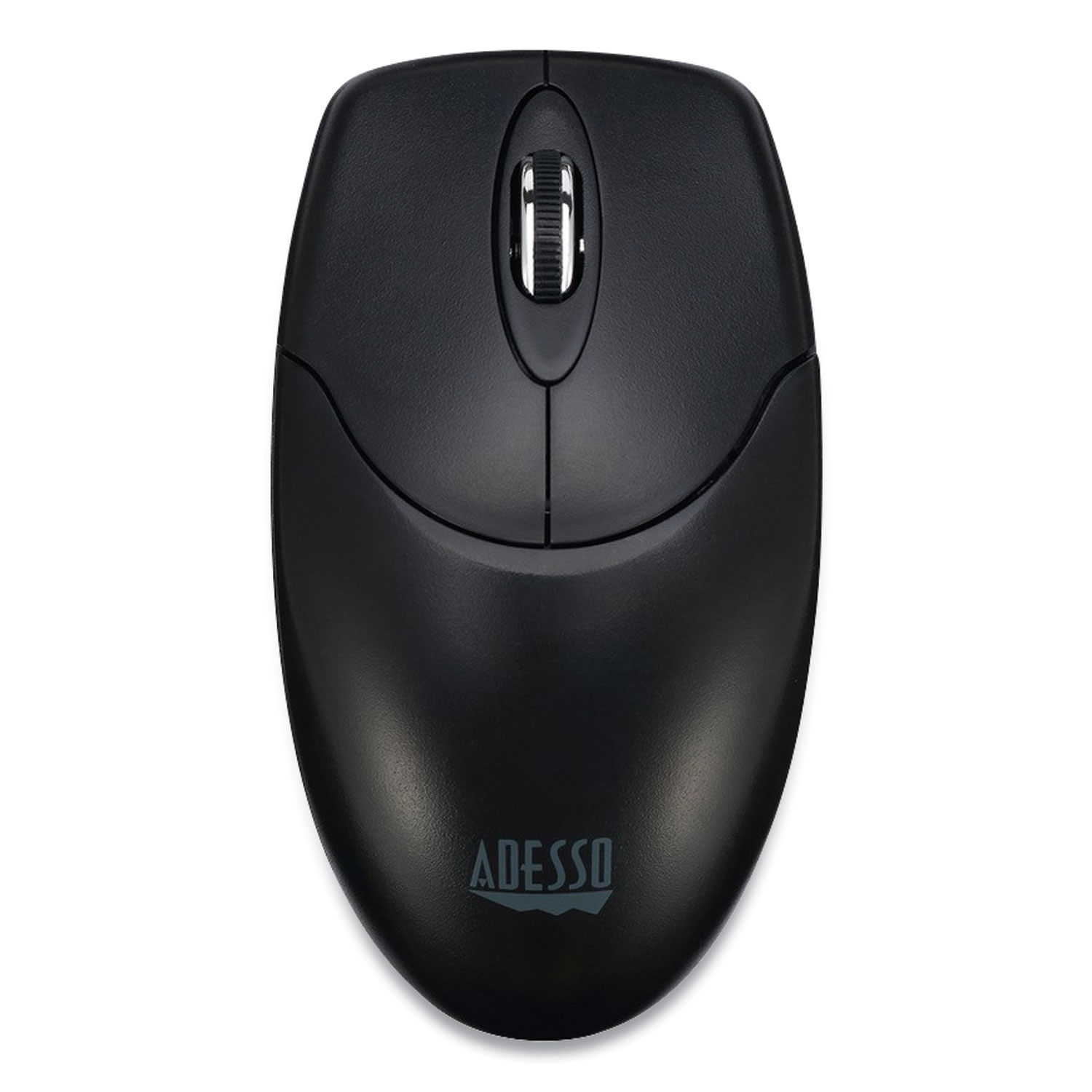 Adesso iMouse M60 Antimicrobial Wireless Mouse, 2.4 GHz Frequency/30 ft Wireless Range, Left/Right Hand Use, Black