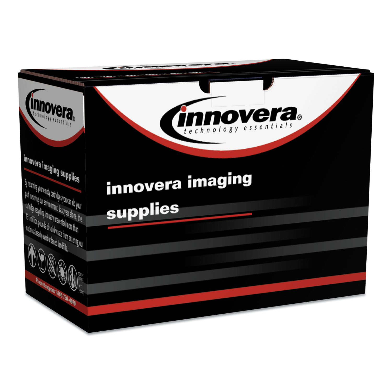 Innovera® Remanufactured Black Drum Unit, Replacement for Brother DR890, 30,000 Page-Yield