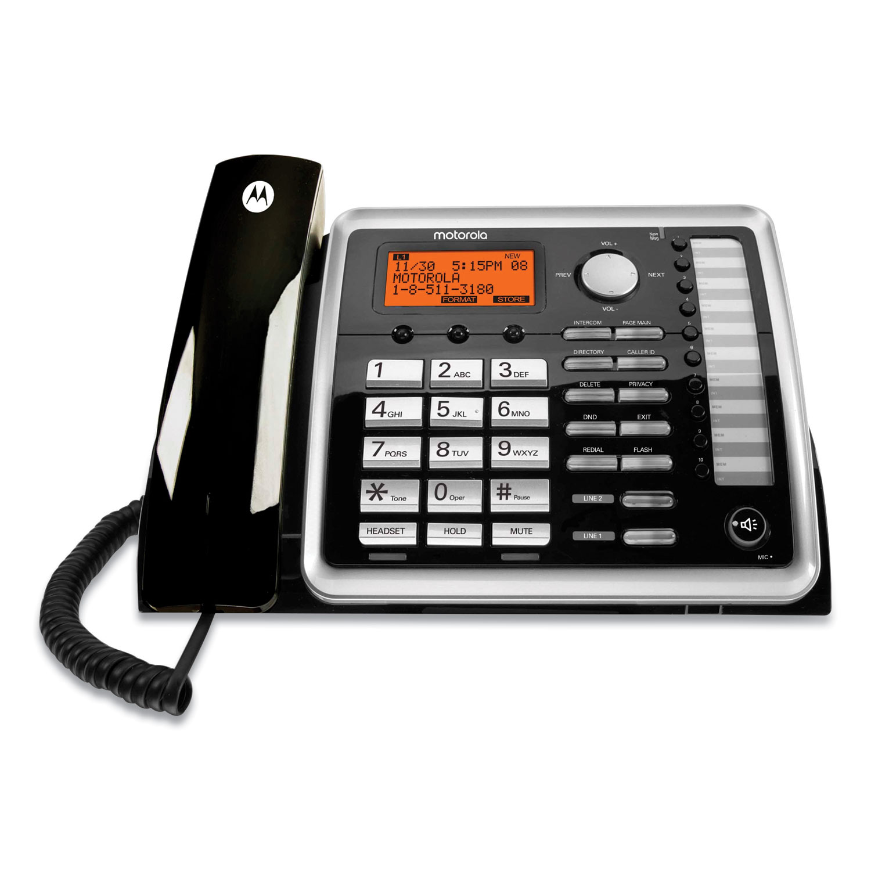Motorola ViSYS 25260 Two-Line Corded Wireless Speakerphone
