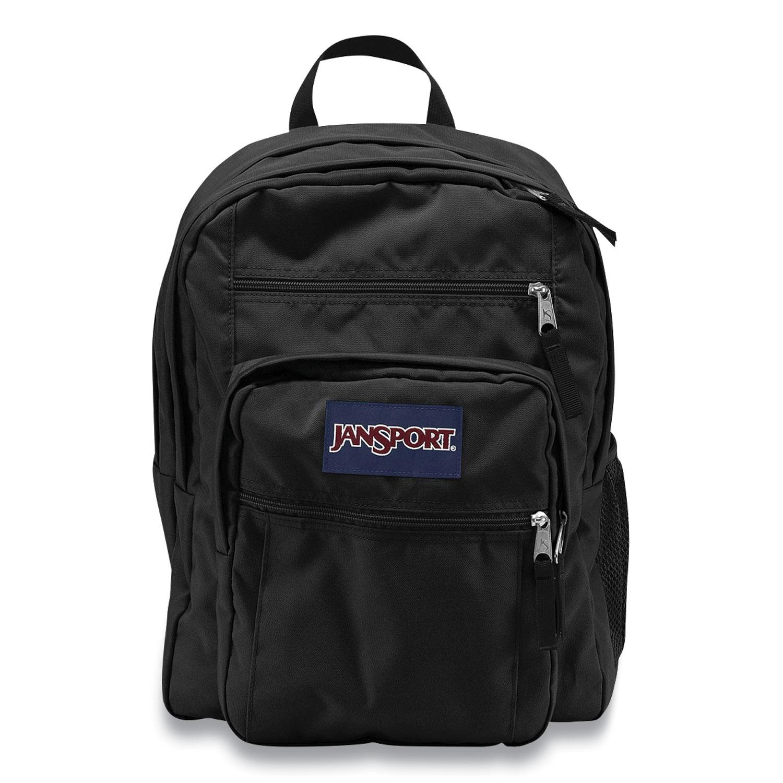 JanSport® Big Student Backpack, 13 x 10 x 17.5, Polyester, Black