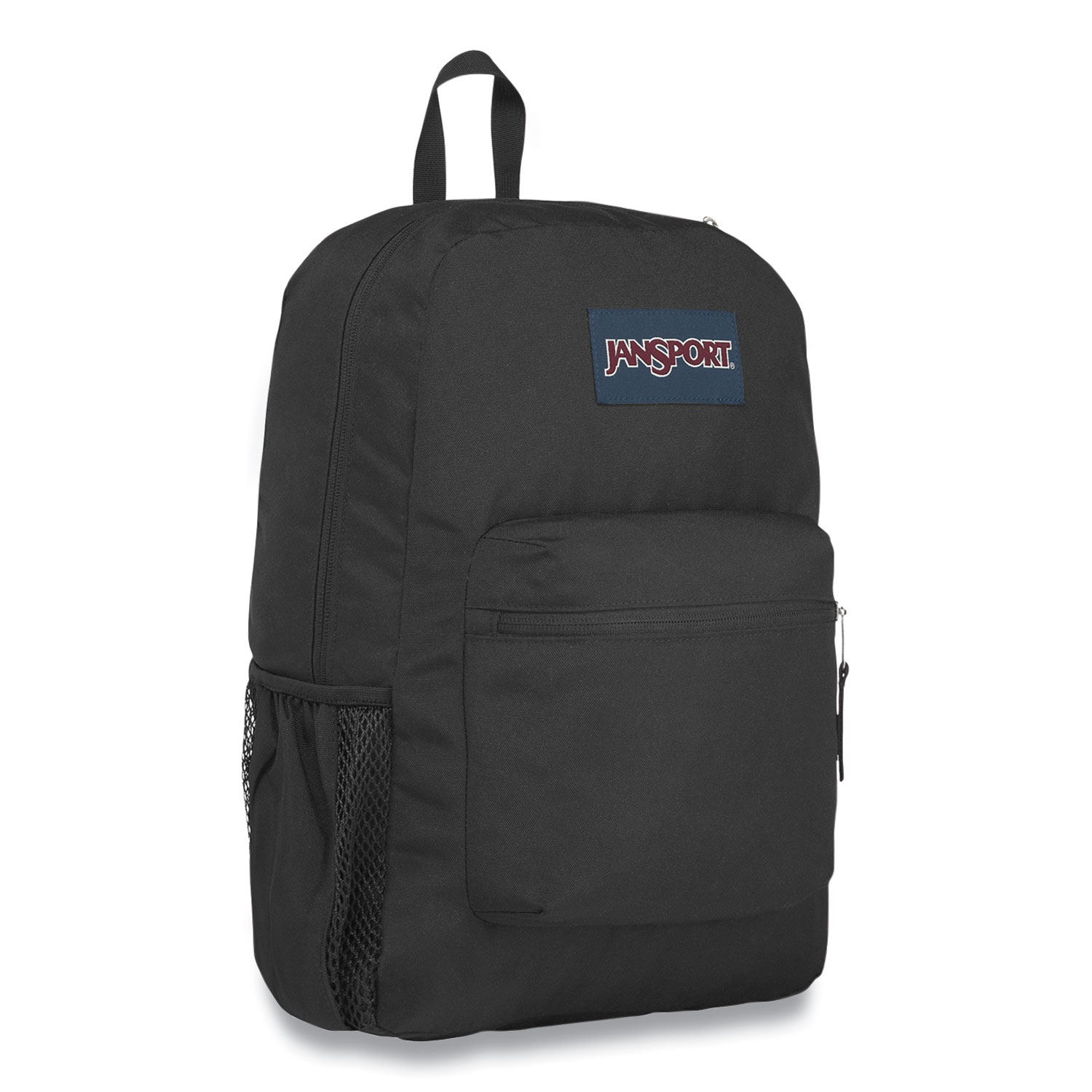 JanSport® Cross Town Backpack, 13 x 8.5 x 16.7, Polyester, Black