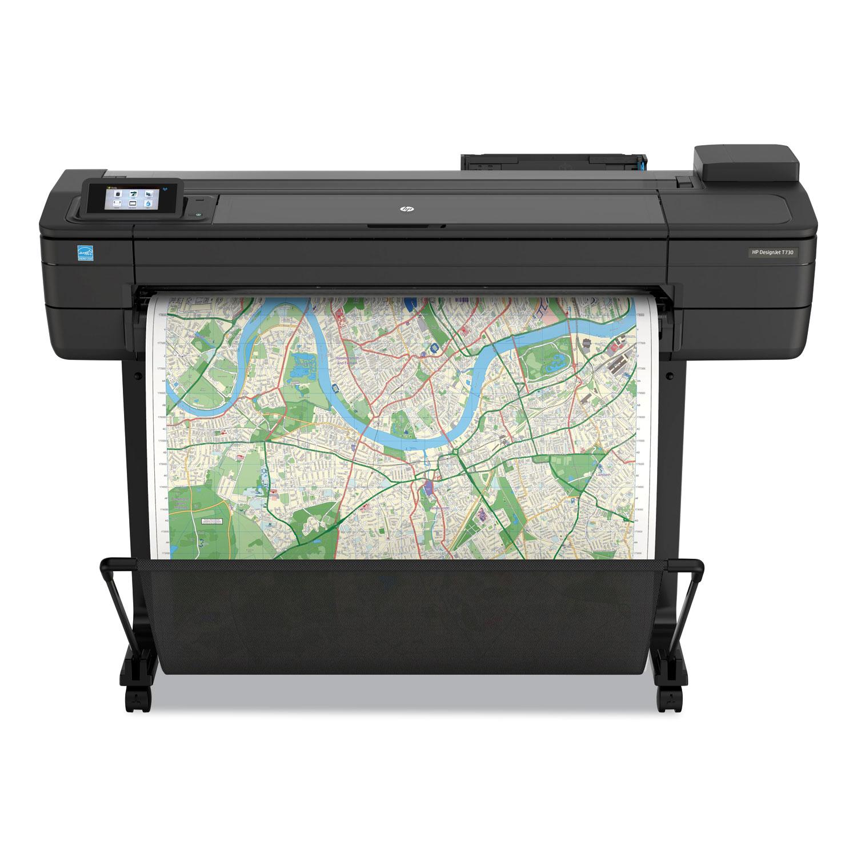 HP Designjet T730 36 Wireless Wide Format Inkjet Printer