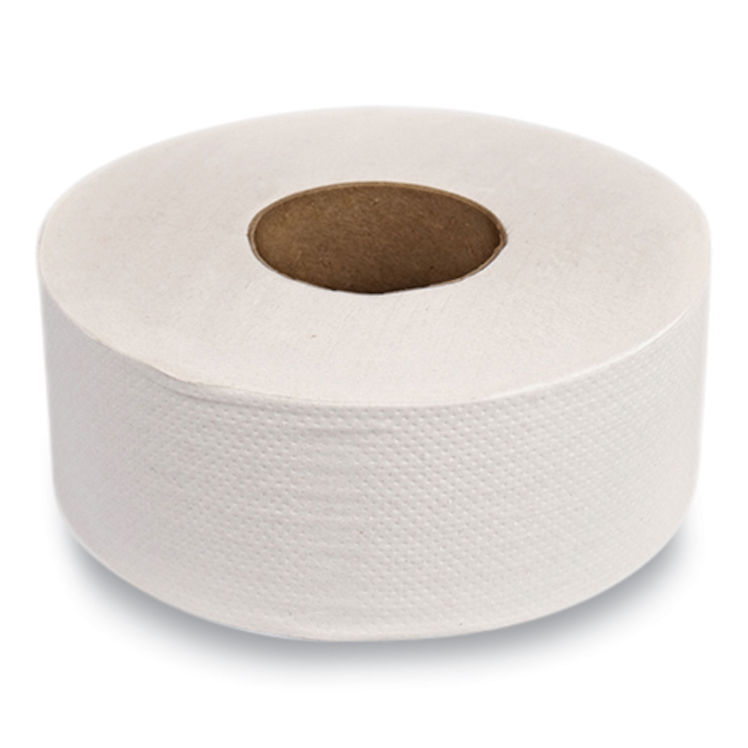Evolution Two-Ply Jumbo Roll Toilet Paper, White, 9 dia. x 1,000 ft, 12 Rolls/Carton