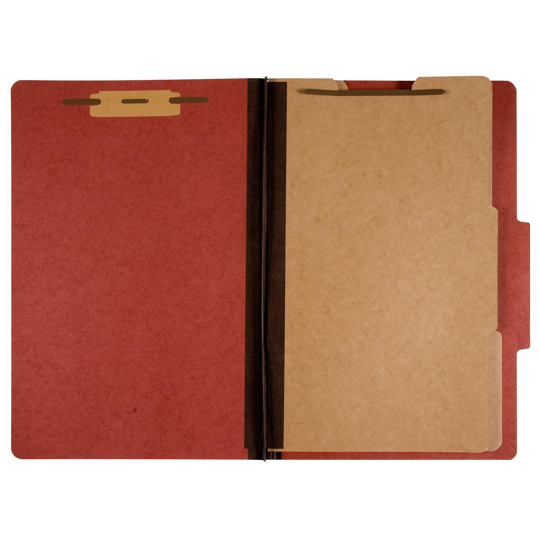 7530009908884 Classification Folder, 2 Dividers, Letter