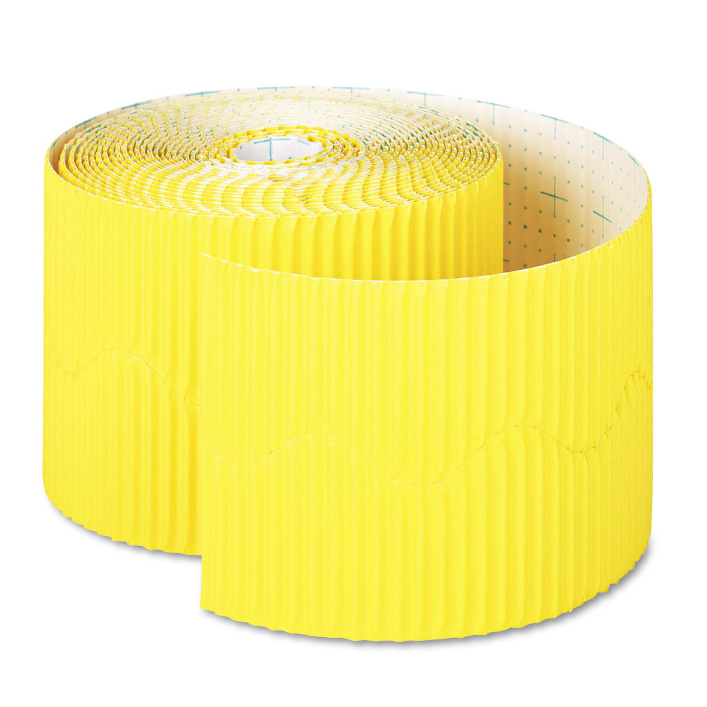 """Bordette Decorative Border, 2 1/4"""" x 50' Roll, Canary"""