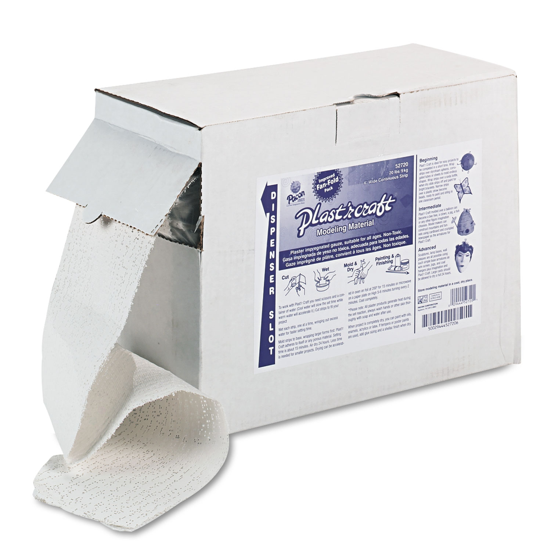 Plast'r Craft, White, 20 lbs