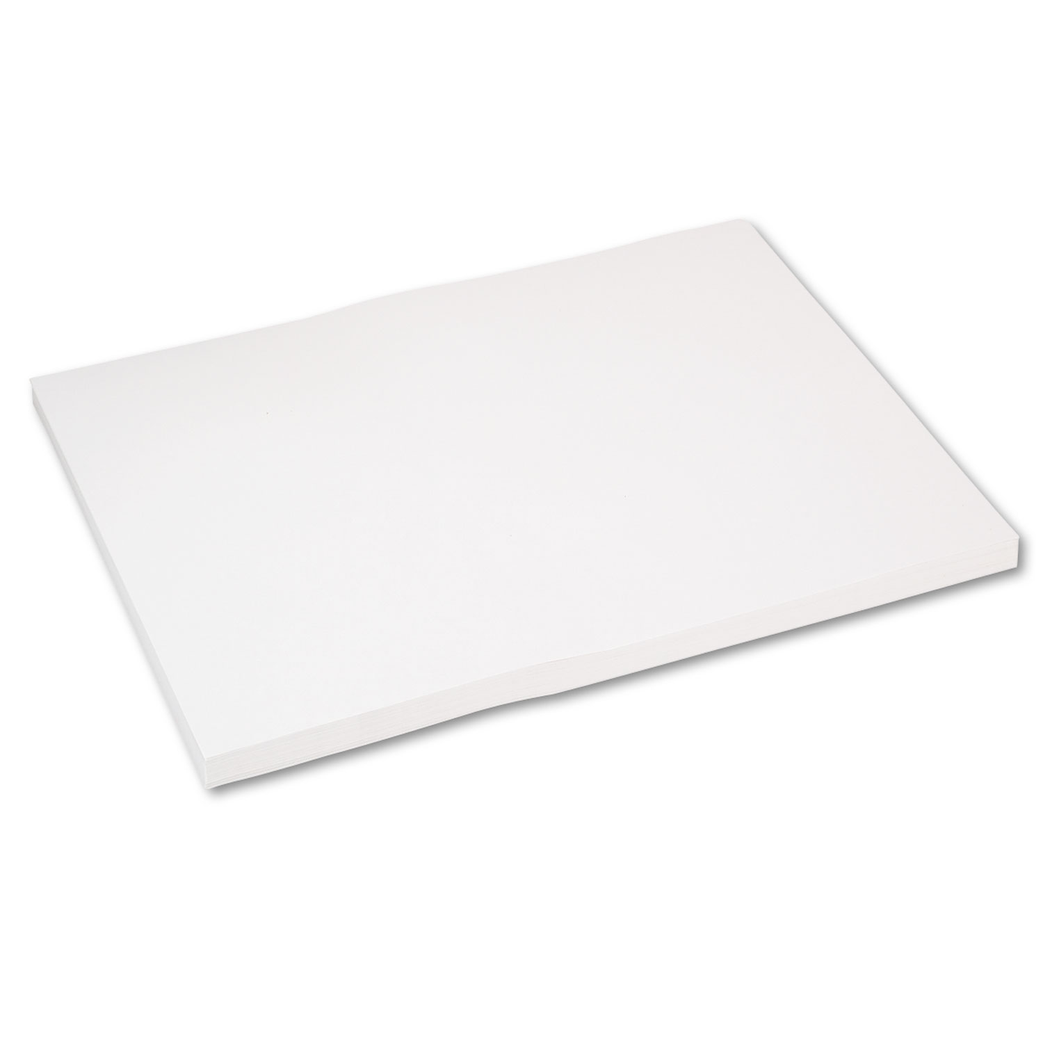 Medium Weight Tagboard, 24 x 18, White, 100/Pack