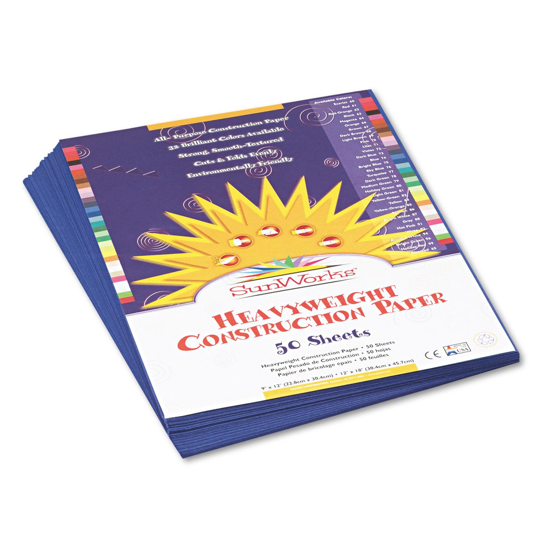 e87f88bd18f PAC7303 SunWorks Construction Paper - Zuma