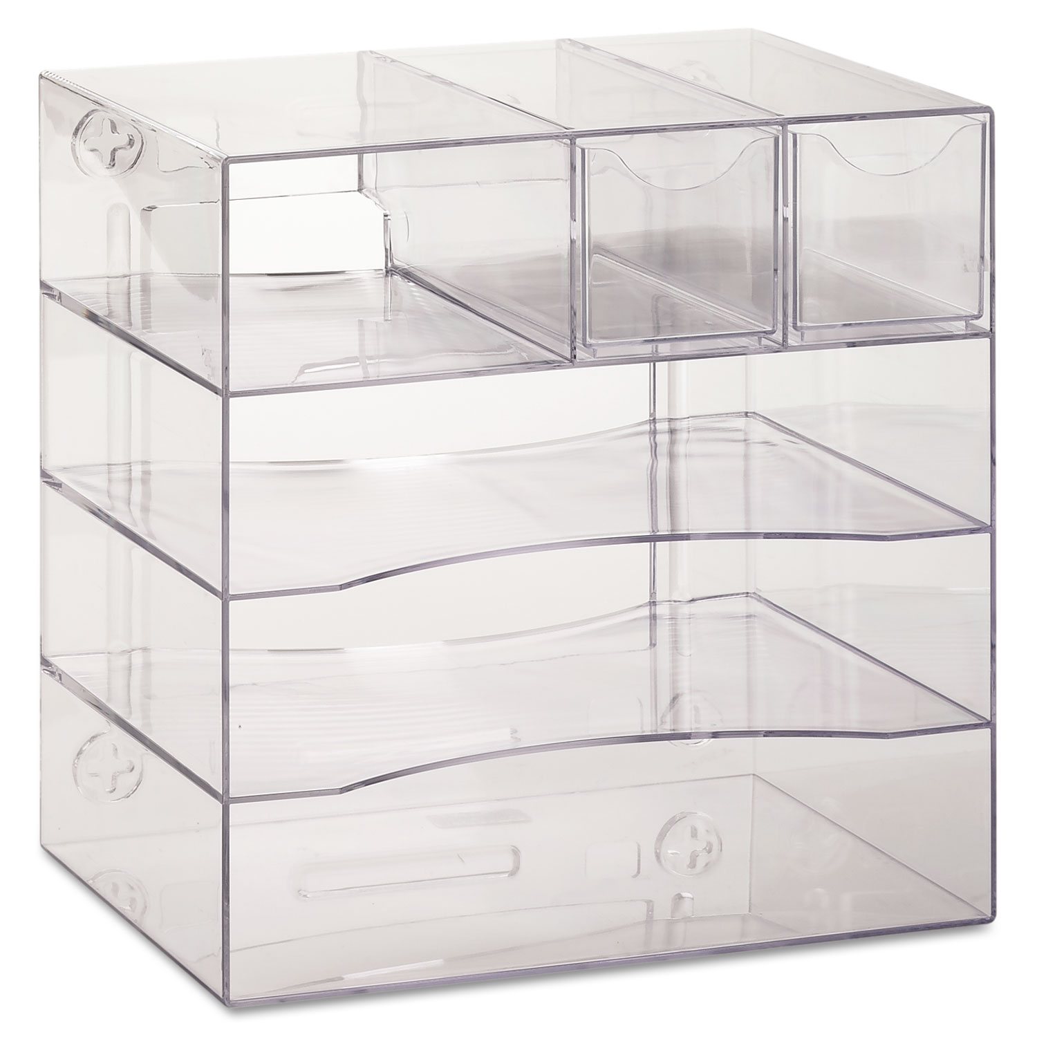 Optimizers Four Way Organizer With Drawers By Rubbermaid