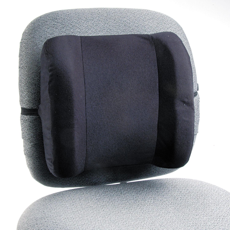 Remedease High Profile Backrest,12.75w x 4d x 13h, Black SAF71491