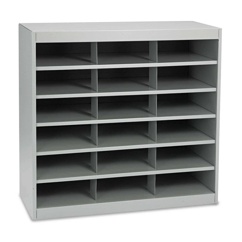Steel Project Center Organizer, 18 Pockets, 37 1/2 x 15 3/4 x 36 1/2