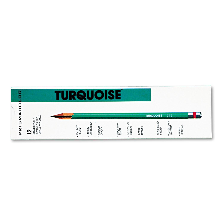 Turquoise Drawing Pencil, 4H, 1.98 mm, Dozen
