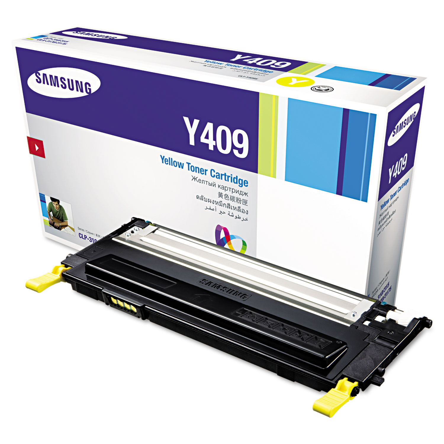 Clty409s Toner By Samsung Sasclty409s Ontimesupplies Com