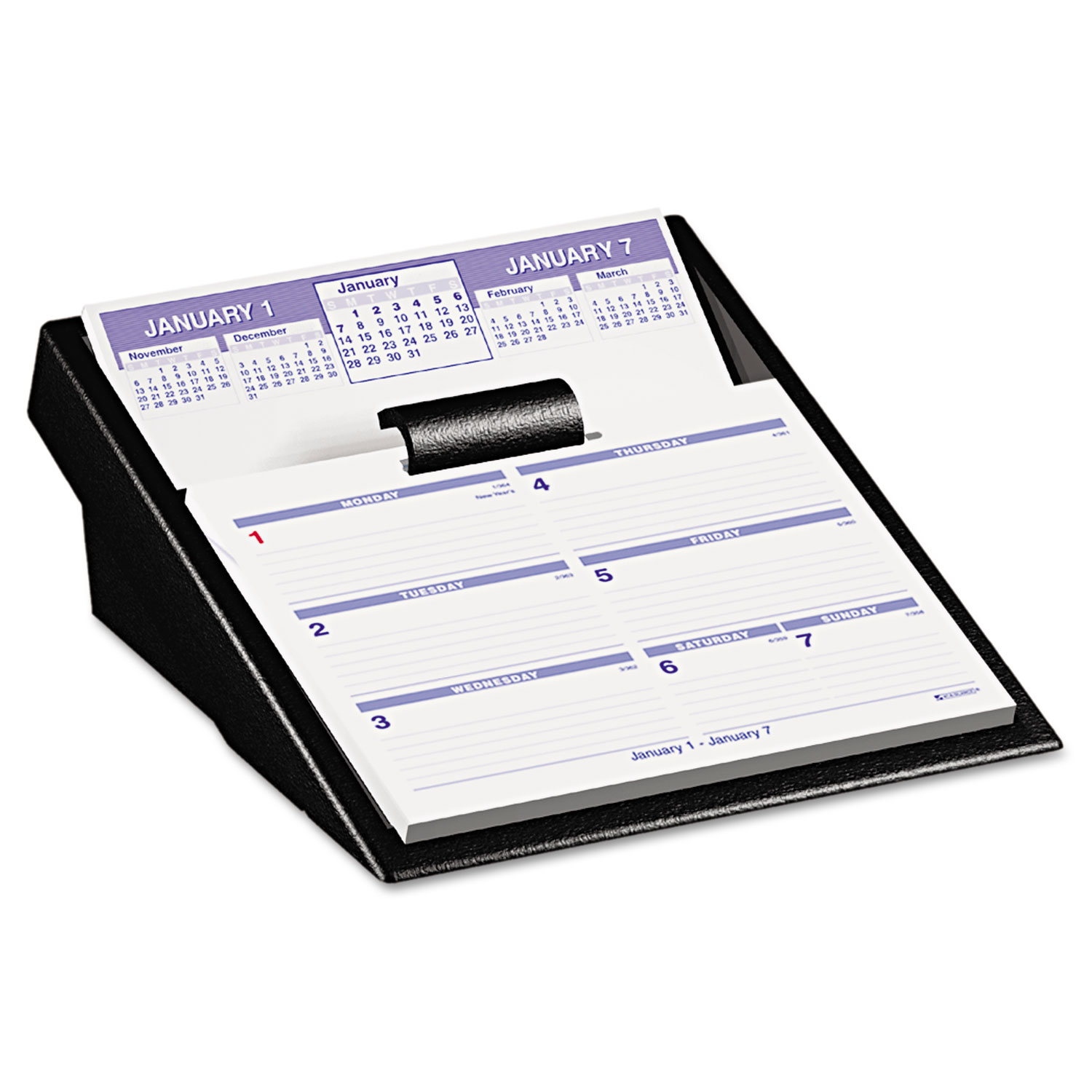 Flip A Week Desk Calendar Refill By At A Glance Aagsw705x50