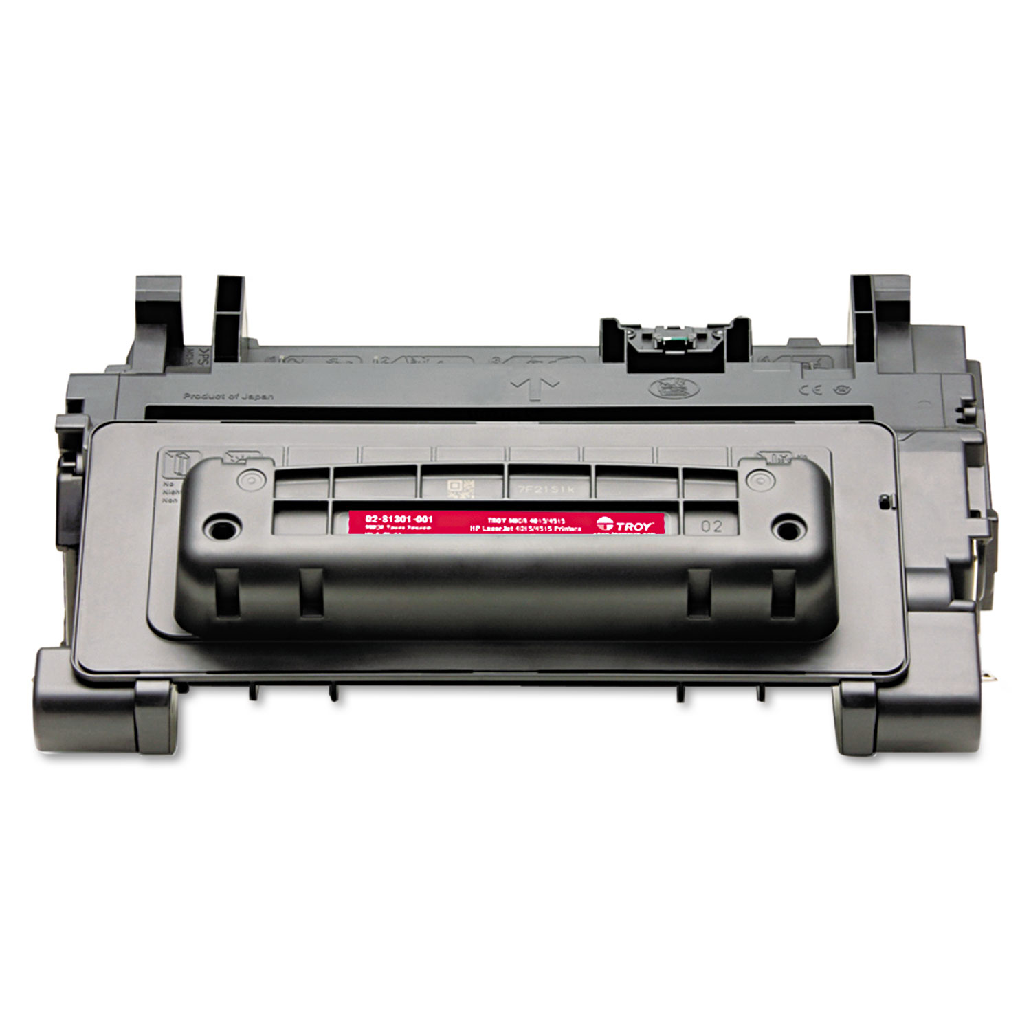 0281301001 64X High-Yield MICR Toner Secure, Alternative for HP CC364X, Black