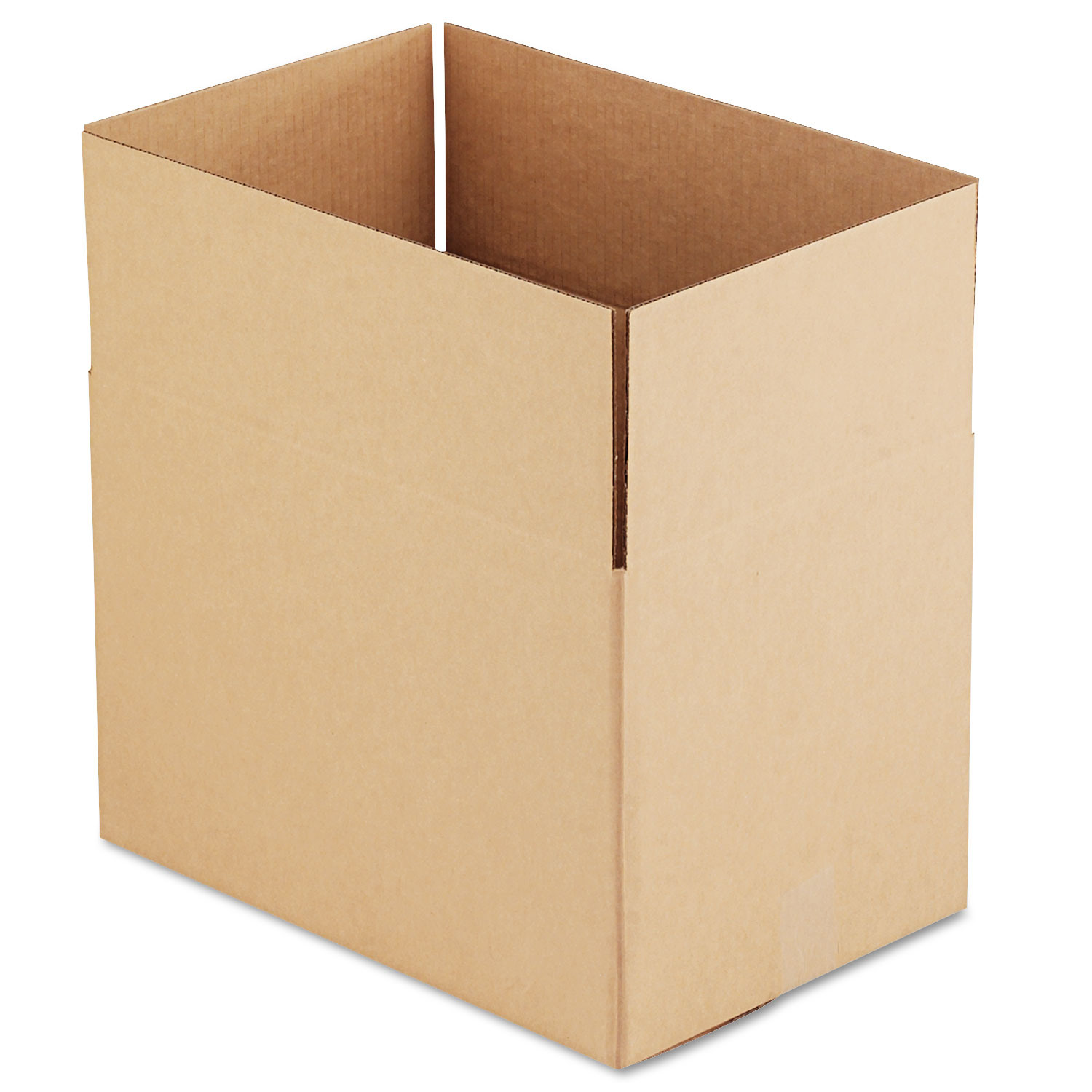 """Fixed-Depth Shipping Boxes, Regular Slotted Container (RSC), 18"""" x 12"""" x 12"""", Brown Kraft, 25/Bundle"""