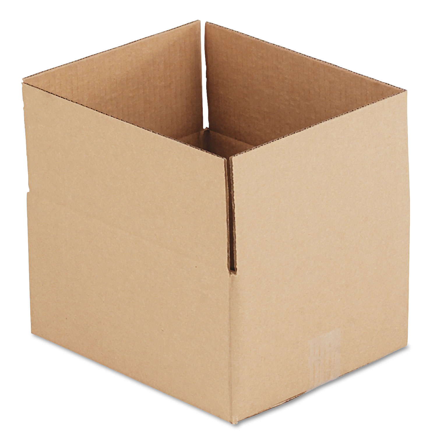 """Fixed-Depth Shipping Boxes, Regular Slotted Container (RSC), 12"""" x 10"""" x 6"""", Brown Kraft, 25/Bundle"""