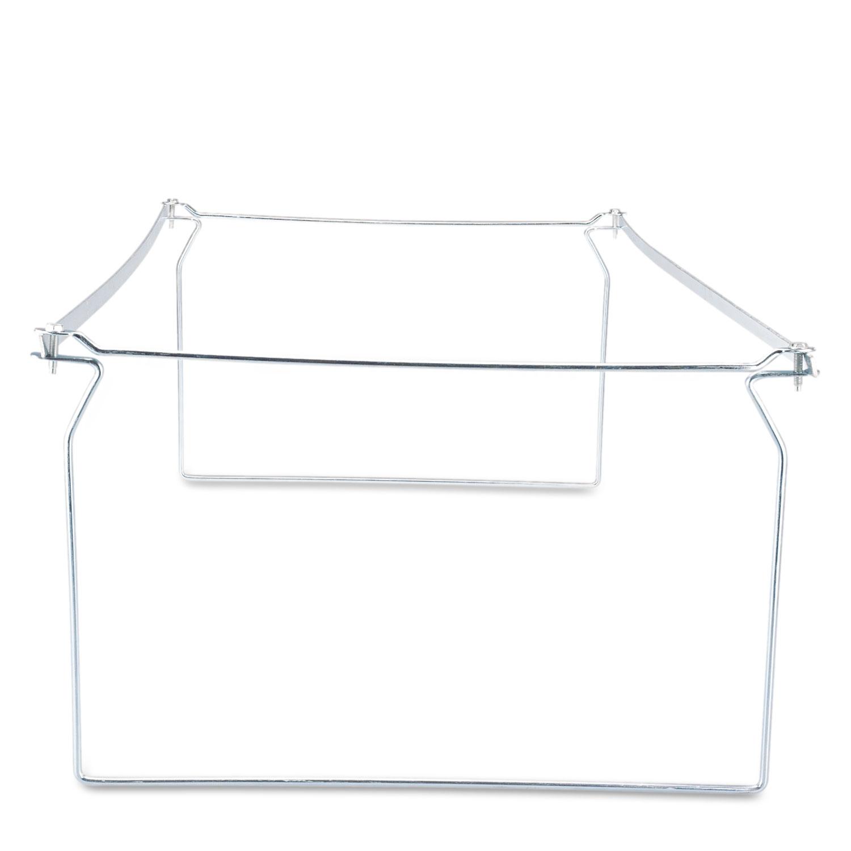 """Screw-Together Hanging Folder Frame, Legal Size, 23-26.77"""" Long, 6 Frames/Box"""