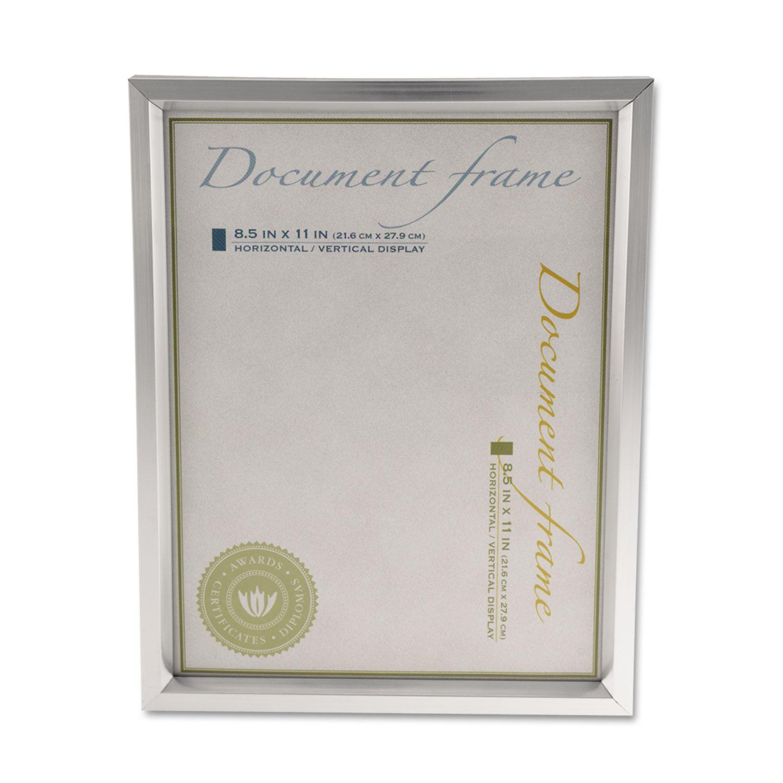 Plastic Document Frame by Universal® UNV76853 - OnTimeSupplies.com