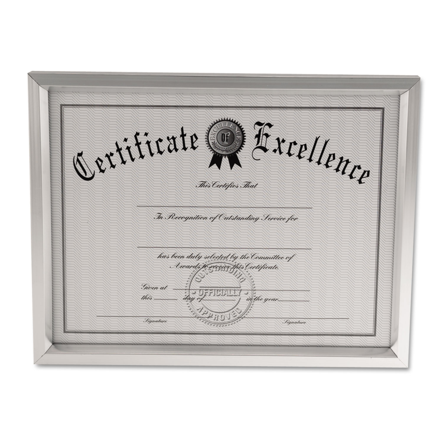 Plastic Document Frame by Universal® UNV76853 - OnTimeSupplies.com